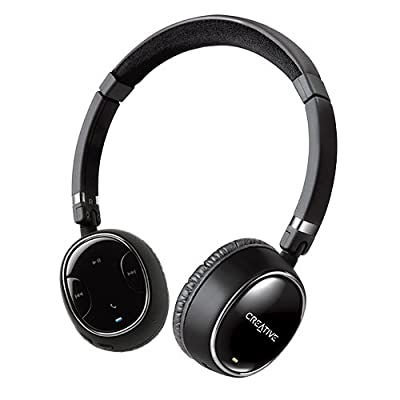 Creative WP-350 Wireless Bluetooth Headphones with Invisible Mic