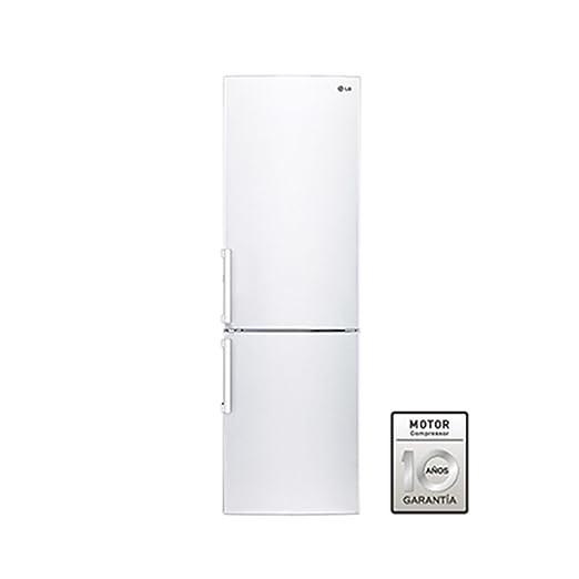 LG GBB539SWSIS Independiente 350L A+ Blanco nevera y congelador ...