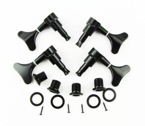 IKN Black Tuning Pegs 2L2R Machine Heads Bass Gotoh Style - Machine Heads Set
