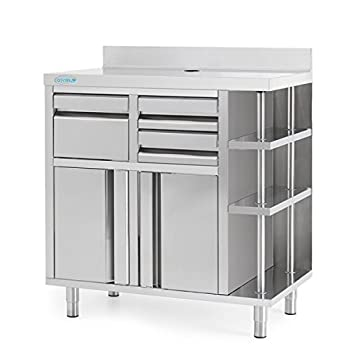 Infrico mcaf1000ci Back Bar café unidad: Amazon.es: Industria ...