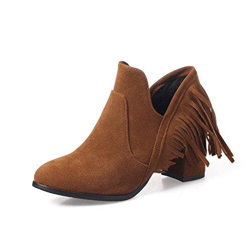 BalaMasa Abl10129 Sandales Compensées Femme Marron, 38.5 EU, ABL10129