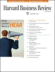 Harvard Business Review, September 2005