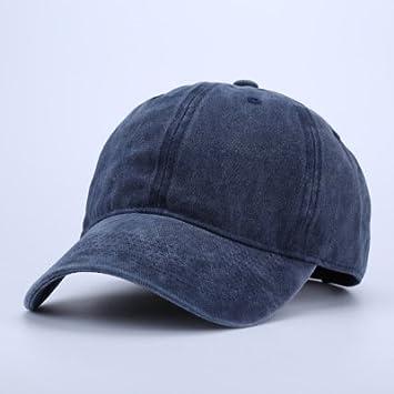 7d3a26b479efe QETUOAD Snapback Gorra de béisbol Sombreros de papá para Hombres Gorras de  Camionero de Mezclilla Gorras