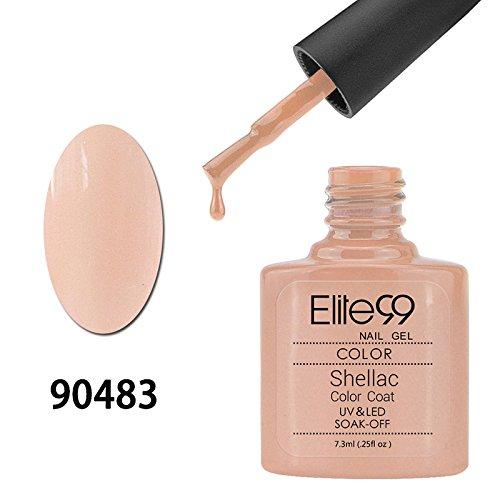 107 opinioni per Elite99 Smalto Semipermanente Gel UV LED Serie Shellac Colore 7.3ml Light Salmon
