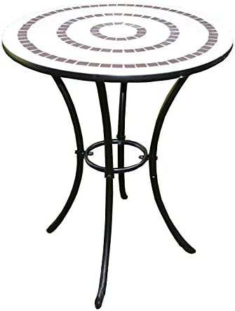 PierSurplus Mosaic Ring Bistro Table Product SKU PF10302T