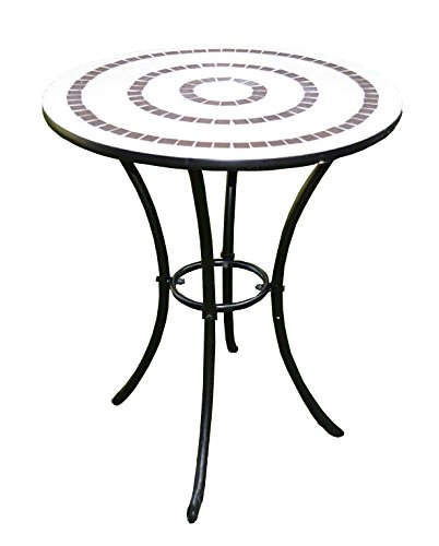 Pier Surplus Mosaic Ring Bistro Table Product SKU: PF10302T