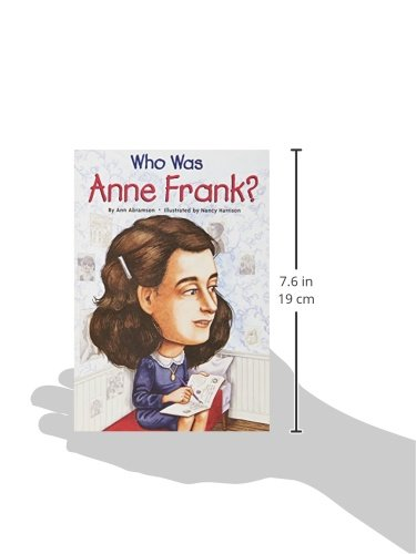 Who Was Anne Frank?: Ann Abramson, Nancy Harrison: 9780448444826 ...