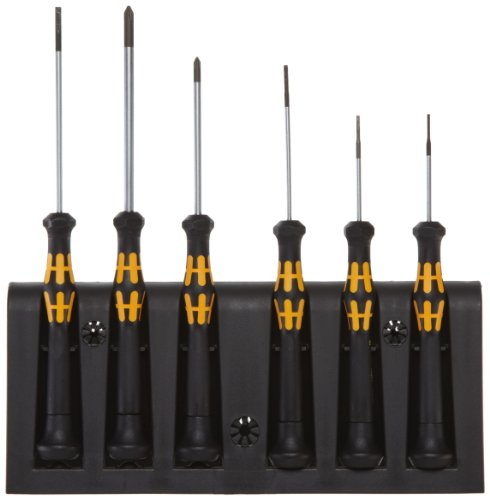 Wera 1578 Electronics Screwdriver 6 Piece
