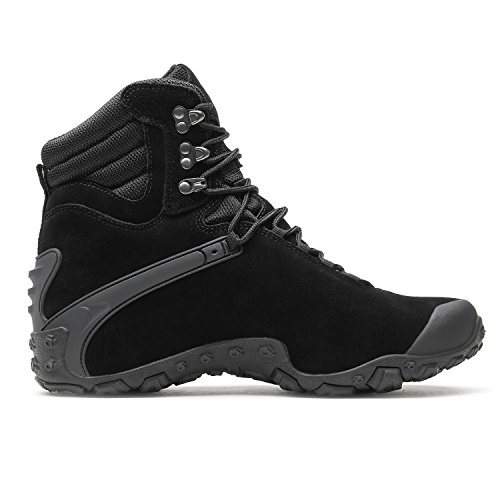 arrival Water Shoes New GUAN Shoes Outdoor XIANG Footwear Hiking Black High boots Women's Climbing top Men's amp; Trekking Resistant Winter Leather YSExxT