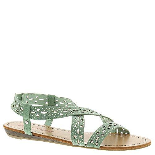 Pink & Pepper Women's Millie Wedge Sandal, Sea Foam, 8 M US
