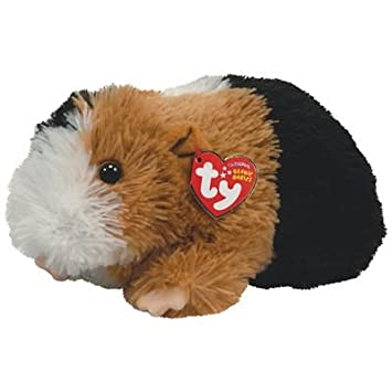 Amazon.com  TY Beanie Baby - PATCHES the Guinea Pig  Toys   Games a4e7c36e904