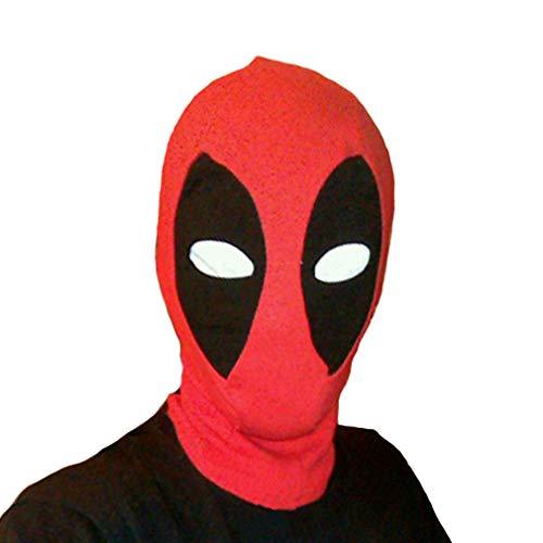 Deadpool Halloween Mask (Rulercosplay Halloween Cosplay Mask - Character Dead Pool Design Cosplay Mask)