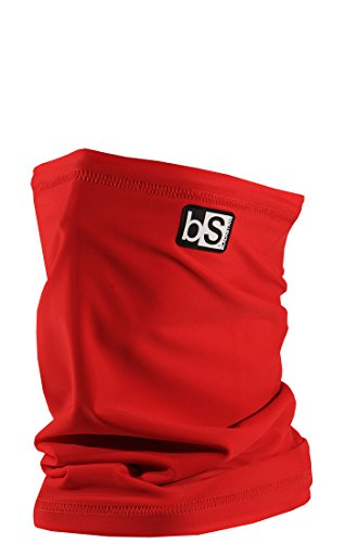 BlackStrap Tube Solid Facemask Crimson, One Size
