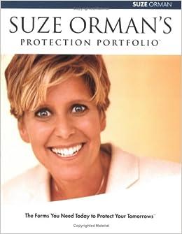 Suze ormans protection portfolio suze orman 9781401901189 amazon suze ormans protection portfolio suze orman 9781401901189 amazon books solutioingenieria Image collections