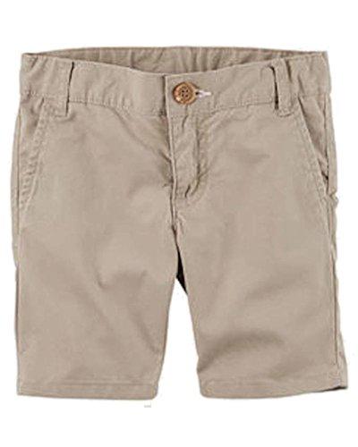 Carter Uniform - Carter's Little Boys' Uniform Flat-Front Shorts, 5-Kids