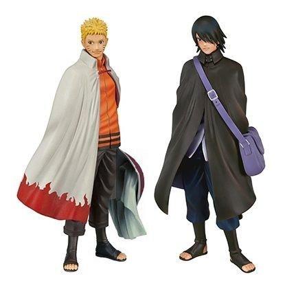 Banpresto Naruto Shippuden DXF Shinobi Relations SP2 Naruto and Sasuke Action Figure Set