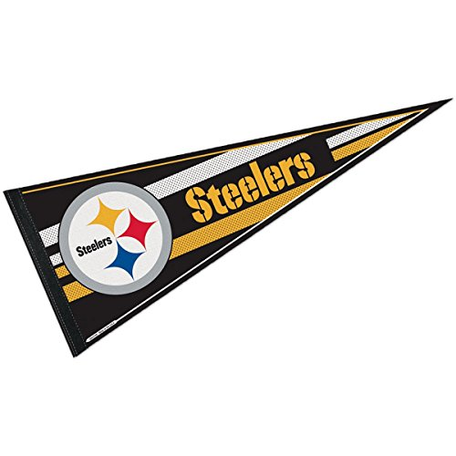 Pittsburgh Steelers Official NFL 29 inch Pennant by - Steelers Pennant Pittsburgh