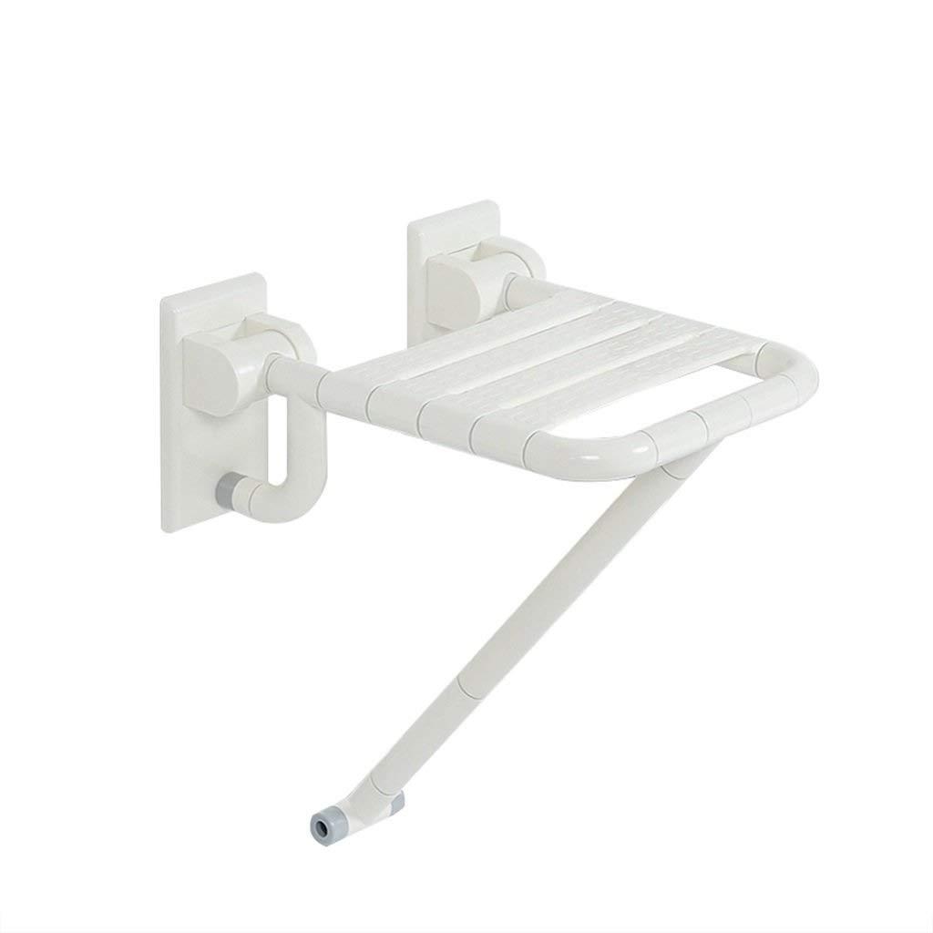 HYZYSDEN Bath Chair, Bathroom Wall-Mounted Folding Shower seat, Old Non-Slip Shower Stool