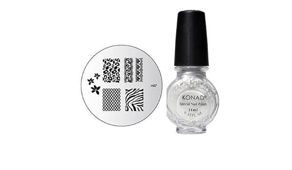 Amazon. Com: konad stamping nail art image plate m43: beauty.