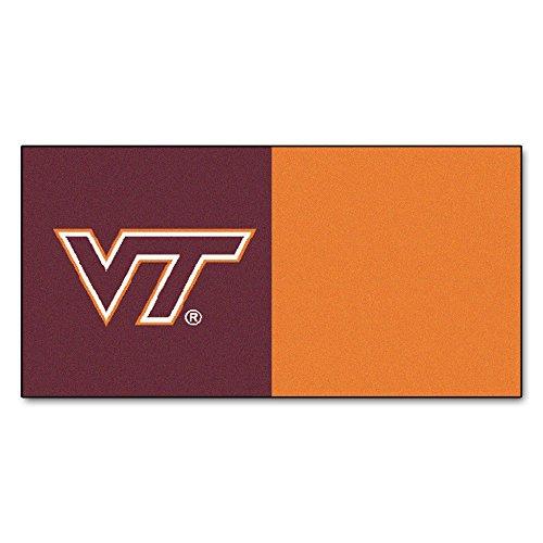 Virginia Tech Team Carpet Tiles 18
