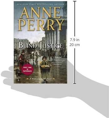 Blind Justice A William Monk Novel Anne Perry 9780345536723