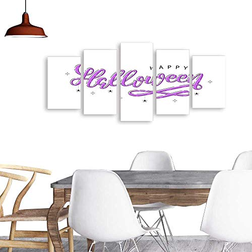 (Paintings Combination Decorative FramelessVector realistic isolated typography for Halloween and spiders with thin line art design for decoration and covering on the white background Concept of)