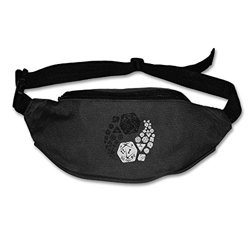 Gkf Waist Fanny Pack Dragons Yin Yang Running Sport Bag For Outdoors Workout Cycling