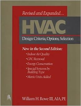 hvac-design-criteria-options-selection