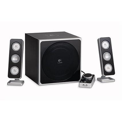 3e8e3dde83a Amazon.com: Logitech Z-4 2.1 Speaker System with Subwoofer (Black ...