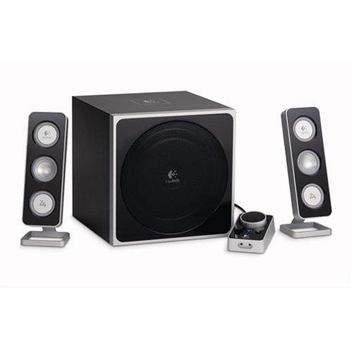 Logitech Z-4 2.1 Speaker System - 40 W RMS - 35 Hz - 20 kHz