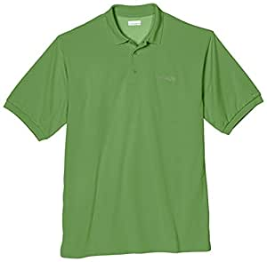 Columbia Sportswear Men's Big-Tall Perfect Cast Polo Shirt, Clean Green, Large Tall