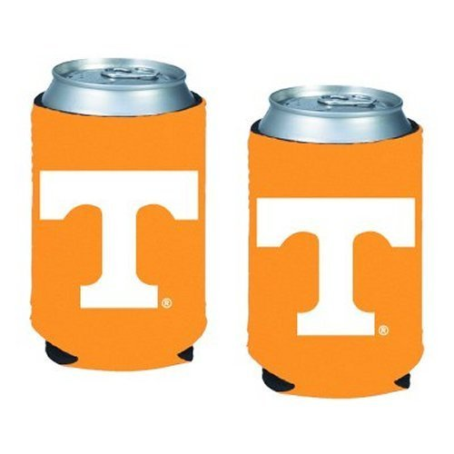 (NCAA Tennessee - Neoprene Pocket Coolies (2) | Tennessee Volunteers Collapsible Beverage Insulators - Set of 2)
