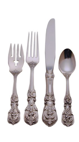 Reed & Barton Francis First Sterling Silver 4-Piece Flatware Place Set