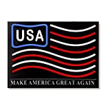 """LED Neon Light American Flag Sign 15""""x 11"""" Home Decorative Party Bar Cafe"""