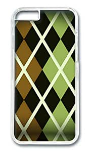 iPhone 6 Case,VUTTOO iPhone 6 Cover With Photo: Argyle Pattern For Apple iPhone 6 4.7Inch - PC Transparent Hard Case
