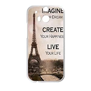 Paris Eiffel Tower For HTC One M8 Phone Cases NDG611640