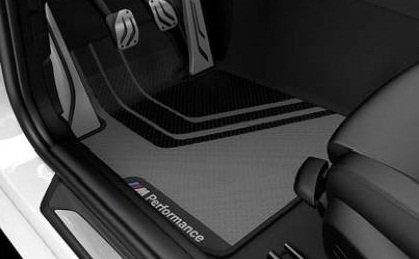 BMW M Performance Floor mats Front and Rear 4 Series (Best Bmw M Series)