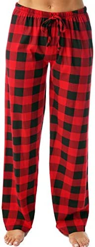 Just Love Women Buffalo Plaid Pajama Pants Sleepwear