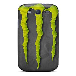Excellent Hard Phone Cover For Samsung Galaxy S3 (ucr3615GyzF) Provide Private Custom Attractive Monster Image