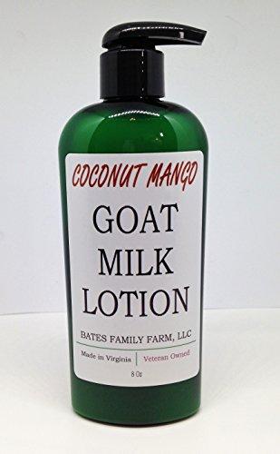 Bates Family Farm Goat Milk Lotion (Coconut Mango Fragrance)