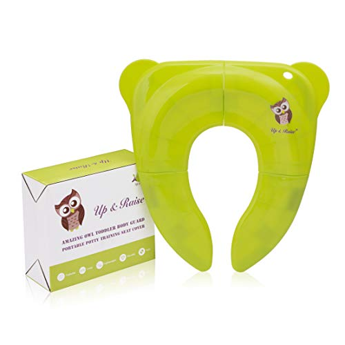 Green Portable and Folding Potty Training Seat Cover Pad