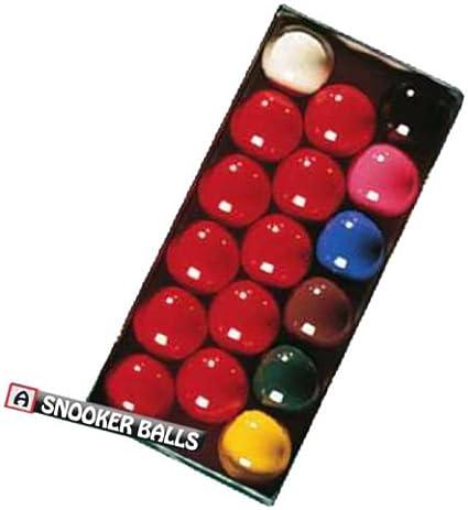 Caja de bolas 1 ¾ pulgada 17 unidades 10-red bola blanca para billar pelotas bolas de juego de bolas de colores: Amazon.es: Deportes y aire libre