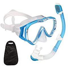 New Product Launch Promotion! The Price Will Rise Soon! Order it now! Premium Grade Mask and Snorkel Set for Children Professional Grade Materials Built to last! The product is manufactured using highly durable premium materials.  The silicon...