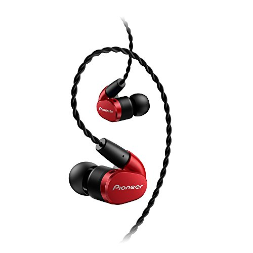 Pioneer SE-CH5T-R 【Realizing Broadband High Resolution Reproduction】【Japan domestic model】(Red)