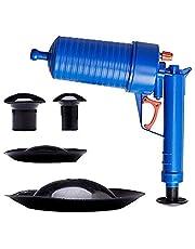 Lemonda Air Drain Blaster, Air Pressure Pump Drain Cleaner Unclogs Toilets Sinks Plunger (Style B)