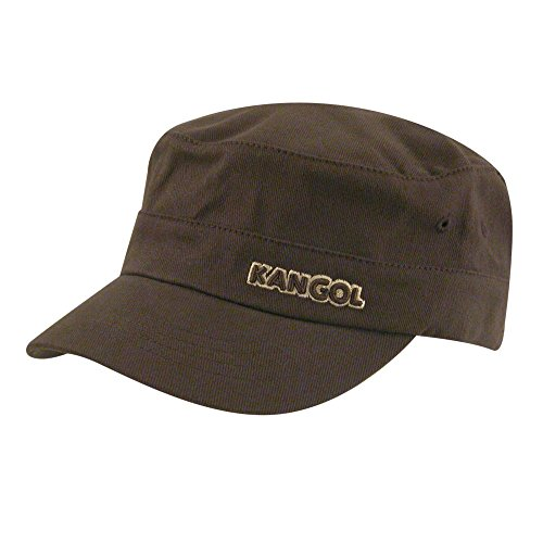 s Cotton Twill Army Cap, Brown, XXL ()