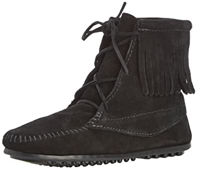 Minnetonka Tramper Boot (Toddler/Little Kid/Big Kid),Black,8 M US Toddler