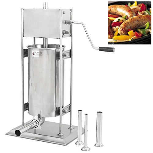 ARKSEN-Vertical-Sausage-Stuffer-Stainless-Steel-Meat-Press-351015-Liter