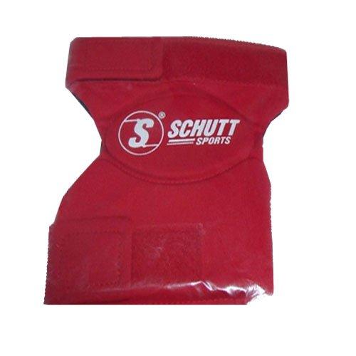Schutt Sports Ez Slider Right Knee Pad, Scarlet, XL/Short (Pads Sliding Schutt)