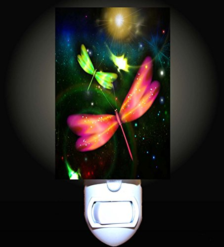 Decorative Wall Night Lights : Dragonfly night lights kritters in the mailbox